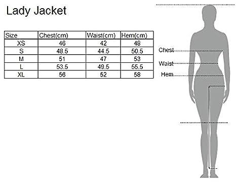 Eono Essentials Chaqueta de senderismo de entretiempo con capucha para mujer