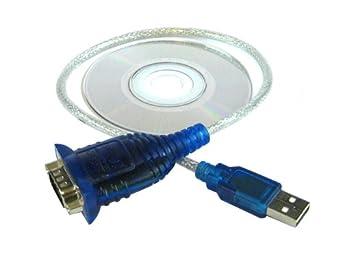 FlowKinetics USBA USB-Serial Adapter for FKT or FKS Series Meters, 1' Length