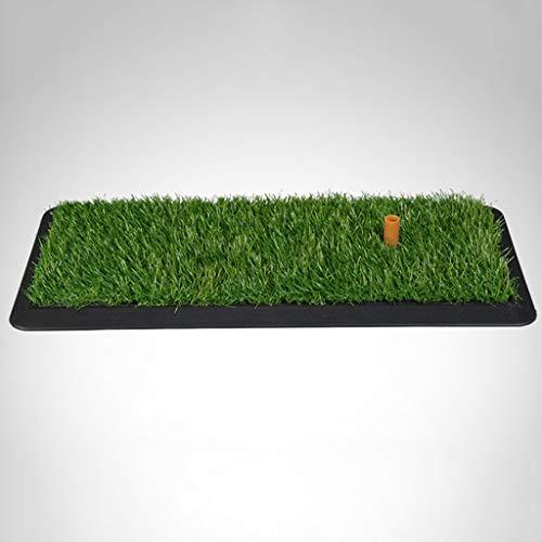 DQMSB Golf Rubber Mat Indoor Practice Mat Swing Ball Mat 0.3 X 0.65m Exercise mats