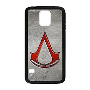 Defender Case With Nice Appearance Assassin's Creed Logo Samsung Galaxy s5 Shell Case Cover (Laser Technology)Kimberly Kurzendoerfer