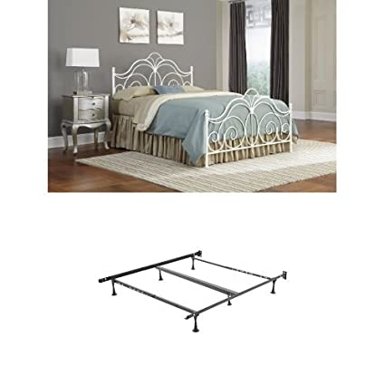 92e0aab1ae3 Amazon.com - Rhapsody Metal Headboard with frame