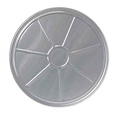 "Durable Packaging 8000-30 Disposable Aluminum Pizza Pan, 12"" (Pack of 500)"