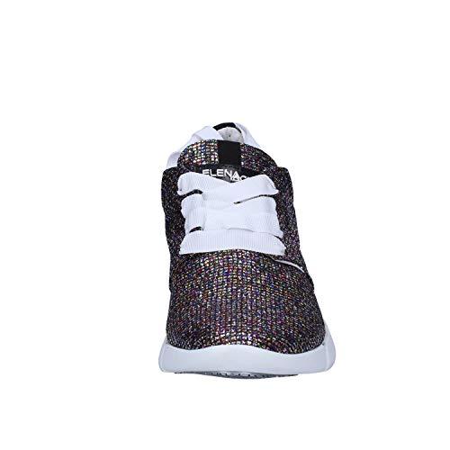 Donna Elena Iachi Multicolore Sneaker Glitter wrrEX