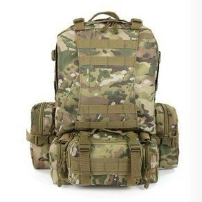 Love Shop Free Soldier Outdoor Military 1000D Waterproof Nylon Combination Hiking Backpack (CP Camouflage), Outdoor Stuffs
