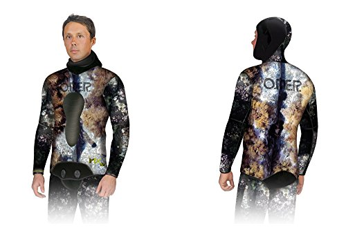 Omer 3mm Mix 3D Camo Jacket (2X Large (6)) by Omer