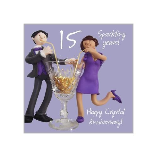 Fifteenth Wedding Anniversary Gifts: 15th Wedding Anniversary Gifts: Amazon.co.uk