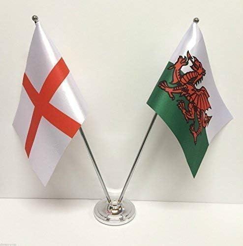 De Inglaterra y Gales Felpudo de fibra de Diseño de banderas de ...