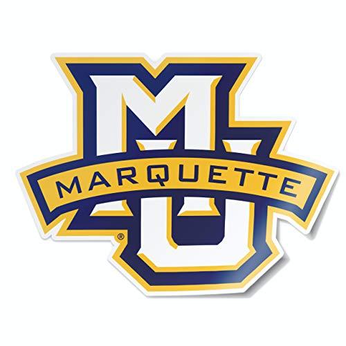Nudge Printing Marquette University Golden Eagles MU Logo Car Window Decal Bumper Sticker