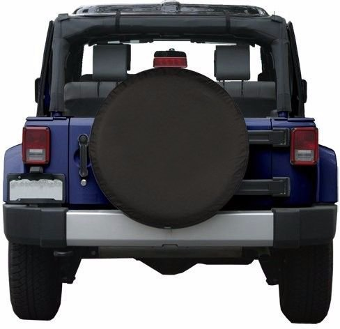 Universal Spare Tire Cover Black (16 inch) by Moonet (Image #8)