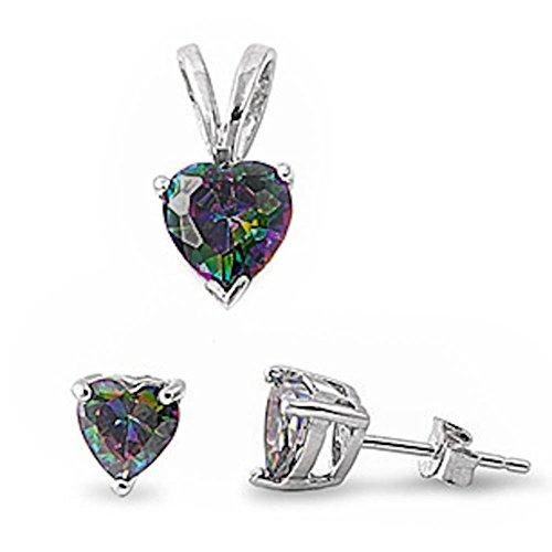 oval imperial topaz stud earrings - 8