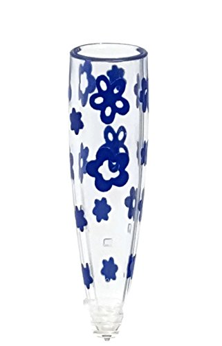 VW Flower Vase with Blue Flowers