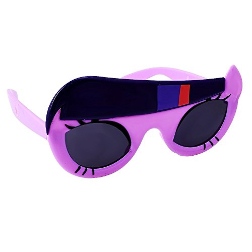 Sun-Staches Costume Sunglasses My Little Pony Lil' Characters Twilight Sparkle Party Favors UV400]()