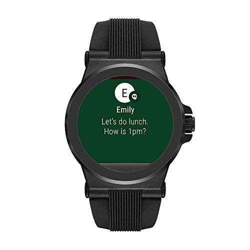 Michael Kors Access Touchscreen Black Dylan Smartwatch ...