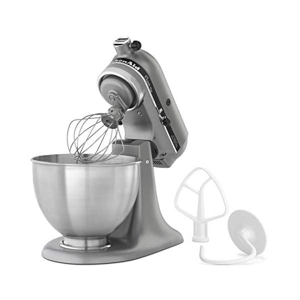 KitchenAid KSM75SL Classic Plus 4.5-Qt. Tilt-Head Stand Mixer, Silver 3