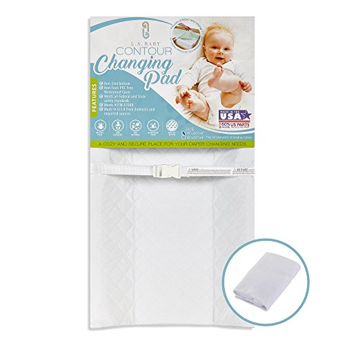 [Combo Pack]LA Baby Waterproof Contour Changing Pad 30