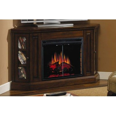 Classic Flame 23ce2081bwn 0502 Devon Corner Electric Fireplace