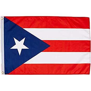 Amazon.com : Puerto Rico 3ft x 5ft Printed Polyester Flag ...