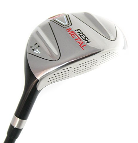 (Founders Club Fresh Metal 11 Fairway Wood with Graphite Shaft and Head Cover (27 Degrees, Regular) )
