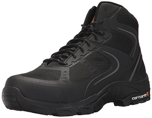 Carhartt Men's CMH4251 6'' Lightweight FastDry Technology Steel Toe Hiker Boot, Black Mesh and Synthetic, 13 M US by Carhartt