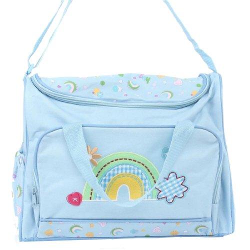 Partiss - Bolso mochila  para mujer azul azul Talla única Azul