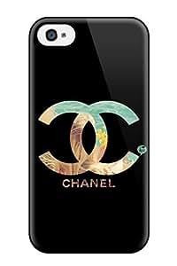 Flexible PC Back Case For Samsung Galaxy S5 CoverChanel Logo