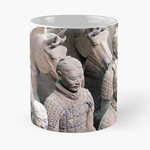 - China History Statues Terracorra Army - 11 Oz Coffee Mugs Unique Ceramic Novelty Cup, The Best Gift For Holidays.