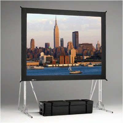 Dual Vision Heavy Duty Deluxe Fast Fold Replacement Front and Rear Projection Screen - 12' x 21'4
