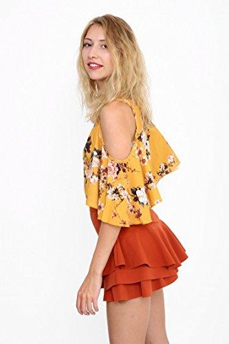 Fashions amp;Ayat Pantaloncini Donna Rust Momo 4wOZ5qnx
