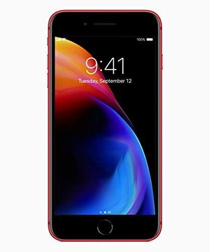 Apple iPhone 8 Plus 64GB Red (special edition Product RED) A1897 - Factory Unlocked - GSM ONLY, NO CDMA (Renewed) -