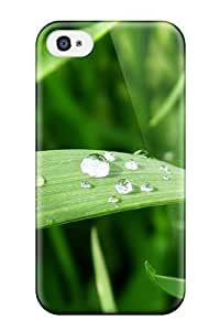 High Quality Fresh Blade Of Grass Case For Apple Iphone 4/4S Case Cover / Perfect Case