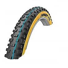 Cicli Bonin Unisex's Schwalbe Nobby Nic Addix Spgrip Tl Easy neumáticos de piel de serpiente, negro, talla única