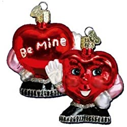 Old World Christmas Be Mine Heart Valentine Heart Ornament