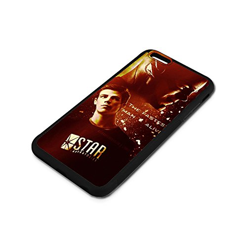 iPhone 6 6S Plus Case,The Flash Barry Allen [PC+ TPU] Case iPhone 6 6S Plus 5.5-Inch Anti-Scratch Shock-Absorbing Bumper Back Panel Protective Cover Phone (Barrys Case)