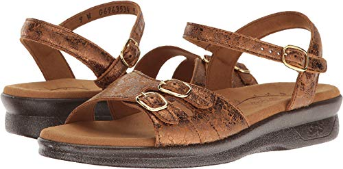 - SAS Women's Duo Five (Bronze Crackle) 12 S - Slim (AAA) US