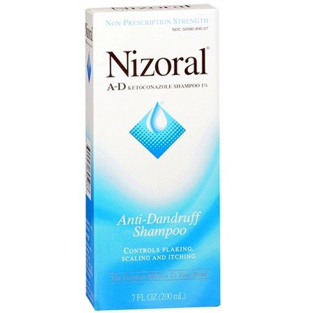 Nizoral Anti-Dandruff Shampoo 7 oz (Pack of 6)