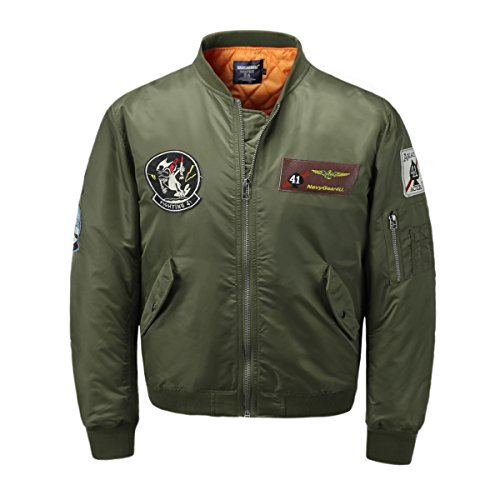 AVIDACE Classic Bomber Quilted Patches product image