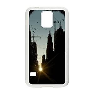 Samsung Galaxy S5 Cell Phone Case White Concrete Jungle Qdfdb