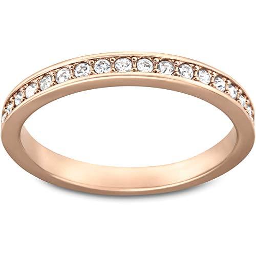 Swarovski Crystal Rare Ring, Rose Gold Size 7