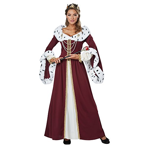 Royal Storybook Queen Adult Costume (Queen Costumes For Adults)