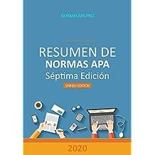 Resumen de Normas APA, Séptima Edición: Todo lo que necesitas para convertirte en un experto de APA (Traducción nº 1)