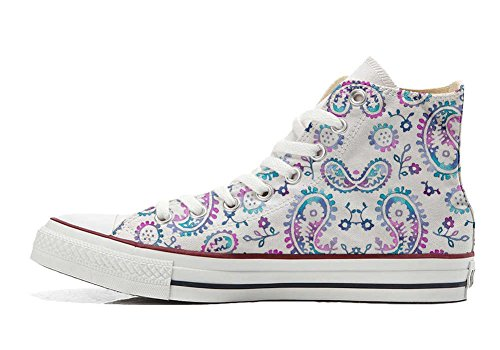 Hi Schuhe Handwerk Customized All Star personalisierte Watercolor Schuhe Converse qBwSH6ETxn