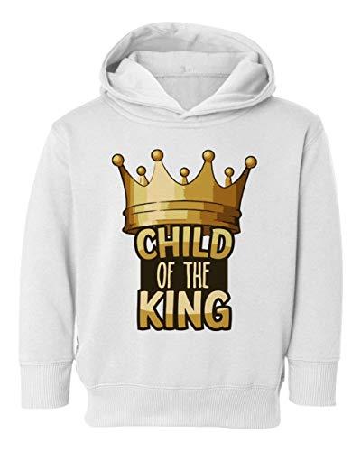 - Child of King Jesus Christian Youth & Toddler Hoodie Sweatshirt (White,5T/6T)