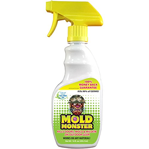 (Mold Monster - Eliminates Odor, Mold & Mildew on Fabric, Plastic, Foam and Vinyl - Non Toxic, Environmentally Friendly - 10z Trigger Spray Bottle (Outdoors))