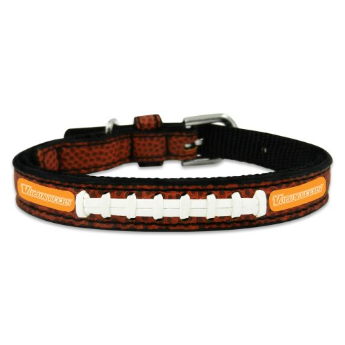 NCAA Tennessee Volunteers Classic Leather Football Collar, Toy