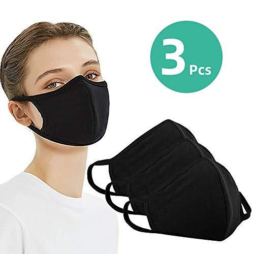 10pcs Adults Stylish Sponge Face Protective Bandana Reusable Ecstasi Washable Dust Protection for Men Women Pink