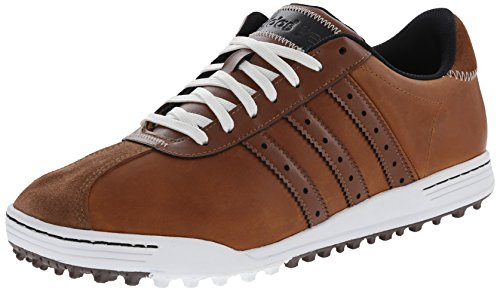 adidas Golf Men's Adicross Classic Tan Brown/Tan Brown/White 9.5 M Adidas Driver