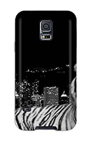 LuisReyes6568776's Shop New Style 8263697K31249114 Sanp On Case Cover Protector For Galaxy S5 (city Dark Tiger)