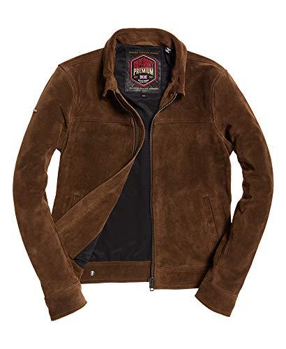 Superdry Curtis Suede Jacket (Superdry Mens Leather Jacket)