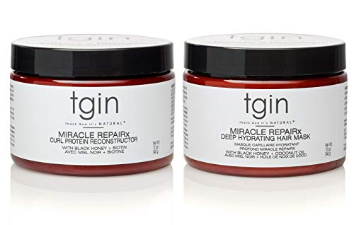 - Tgin Miracle RepaiRx Strengthening Reconstructor And Mask Duo -12 oz