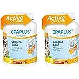 EPAPLUS COLAGENO + SILICIO + HIALURONICO + MAGNESIO LIMON pack2 unidades